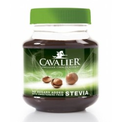 360g belgische HaselnussCreme mit Erythrit + Stevia - Marke: Cav