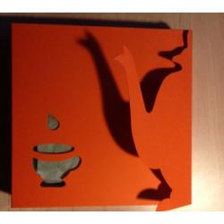 30 Moringablatt Teebeutel Geschenkkanne