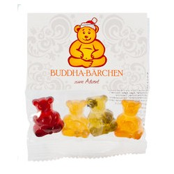 Private Label: Buddha-Bärchen Minibeutel, 1000 x 18g