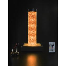 350 mm Farblichtsäule mit 1 A Bergkristallen