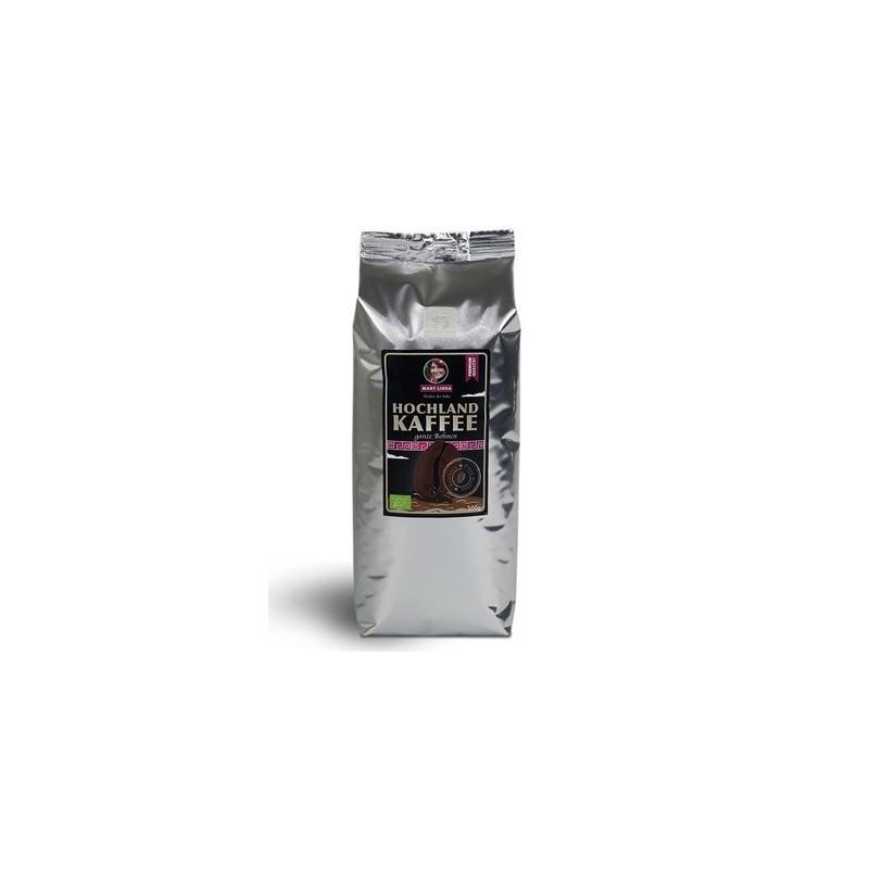 Bio Hochland Kaffe ganze Bohnen 500g Mary Linda