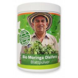 350g Bio Moringa Blattpulver Premium Dose
