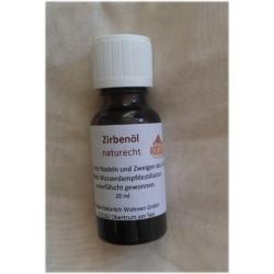 20 ml BIO Zirbenlöl