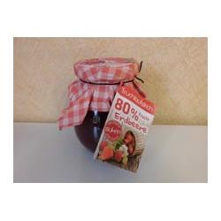 Fruchtkonfi  Erdbeer, mit Original Sukrin - 80 % Frucht