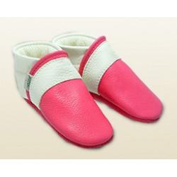 Babyschuhe -pink!/schneeweiss