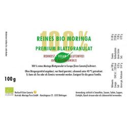 100g Bio Moringa Blattgranulat Gran Canaria