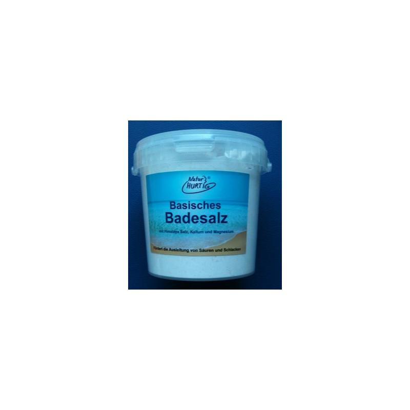 1.2 kg Basisches Badesalz mit Himalaya Salz, Kalium & Magnesium