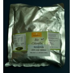 500g Tabletten BIO Chlorella à  400mg