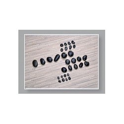Basaltstein Hot Stone Basis Set, 31-teilig