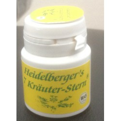 BIO Heidelberger's 7-herb-Star 15 gr. For the Road