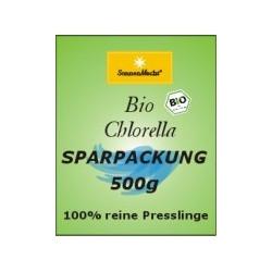 500g reines BIO Chlorella Pulver