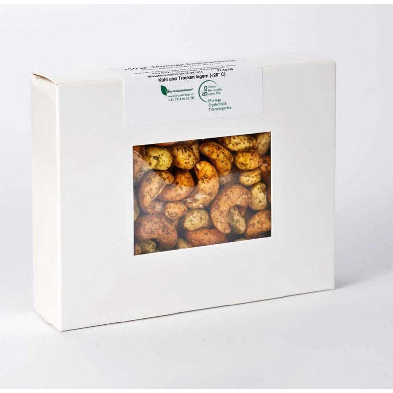 250g Moringa-Red Cashewnüsse geröstet