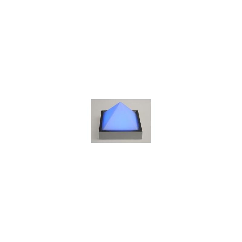 Pyramide (klein) Grundfläche aus Metall