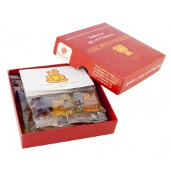 Bio Fruchtsaftgummi Einzelpackung mit Weihnachts Mini