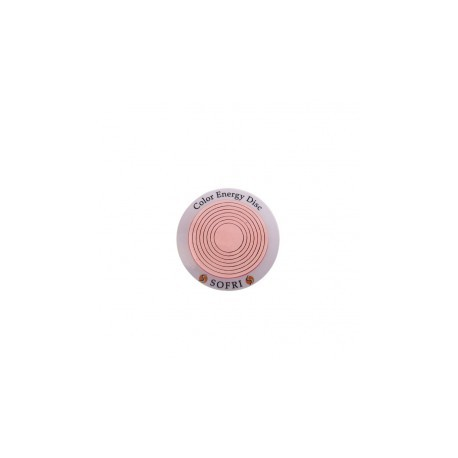 COLOR ENERGY DISC ROSA MIT BUCH